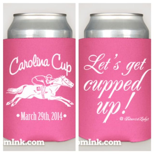 'Carolina Cup' Koozie