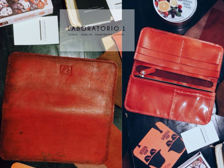 Bespoke #HandcraftedLeather for one of my customers @usagininh.  Red women wallet, cow leather for cover and sheep leather for details inside. Finally, it's personalized with her name, Uyen Ninh ❤️. Thanks for supporting, sis !  Product of 'rey.winter.stuff' by REY.WINTER .  #lifeisbeautiful #hcmclife #hcmc #Vietnam #district1 #leather #handmadeleather #leatherstuff #ReyWinterStuff #reywinter #Laboratorioone #vsco #vscocam #Bespoke #BespokeLeather #WomenWallet #LeatherWallet