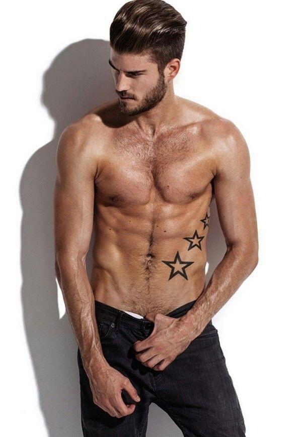 #stars #tatto #abs