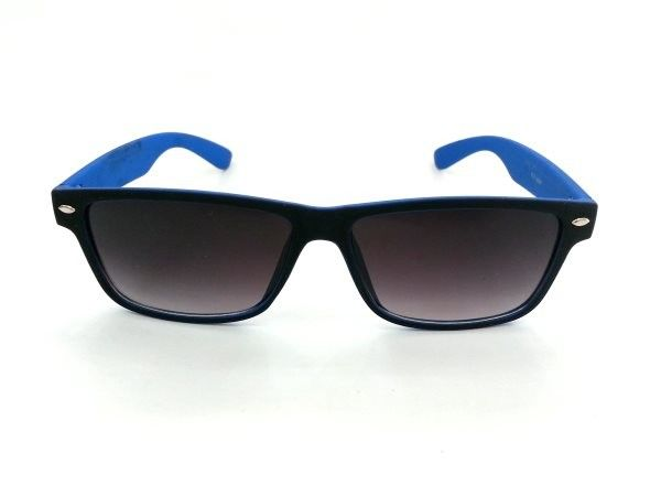 Wayfarer Medium Black Blue Sheet Sunglasses