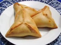 Bichak (Afghani stuffed savory and sweet pastries)   (this site has more detailed recipe variations: http://recipes.wikia.com/wiki/Bichak)
