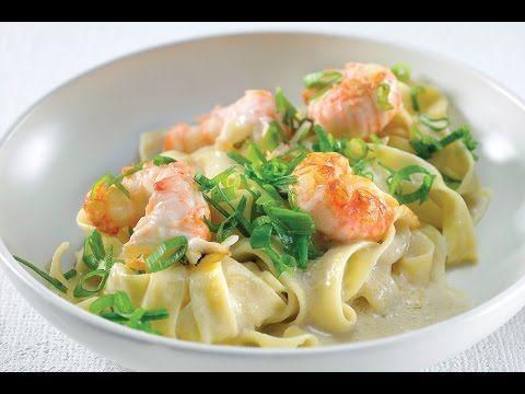 Recept voor pasta met langoustines   njam!