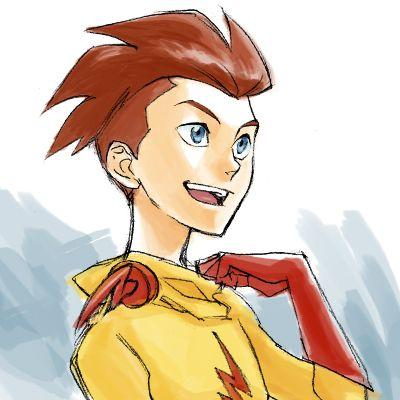 Kid Flash Unmasked by Sii-SEN.deviantart.com