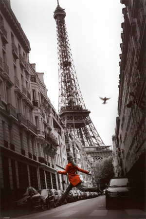 One Day I wil be there, love the look of the Eiffel Tower my house is all done in it going upstairs in house