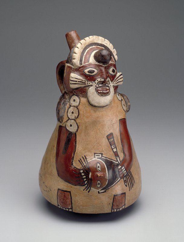 . Vessel |  Artist Unknown (Nazca) (Peru, South America), 100 B.C.-A.D. 600