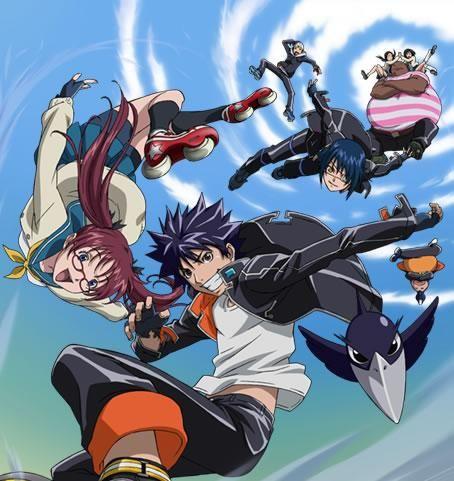 Love this anime! Air gear!