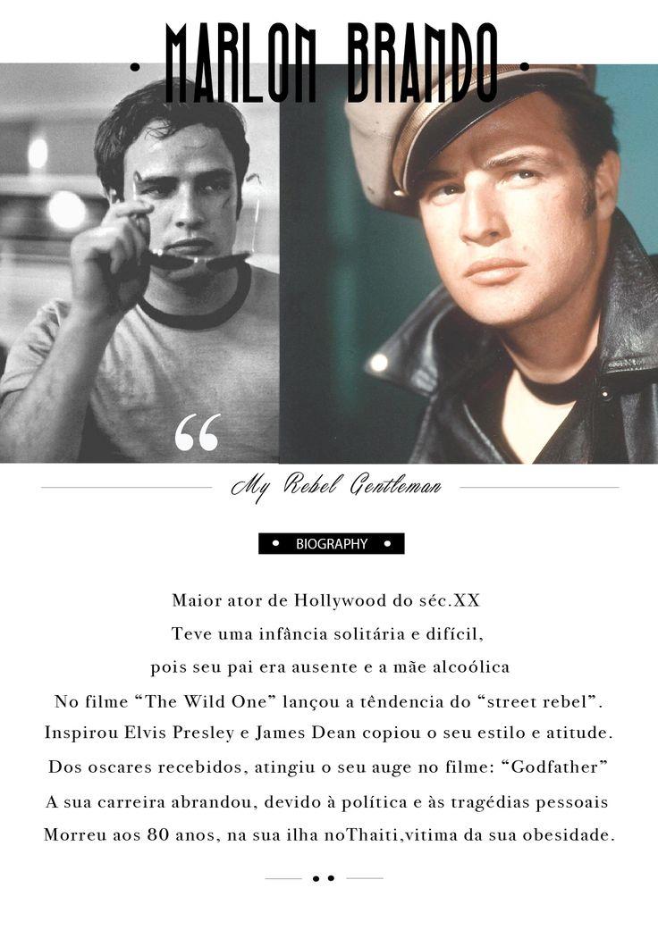 Marlon Brando Bio
