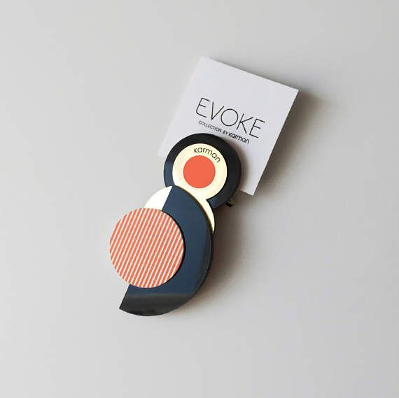JANET magnetic BROOCH from EVOKE collection