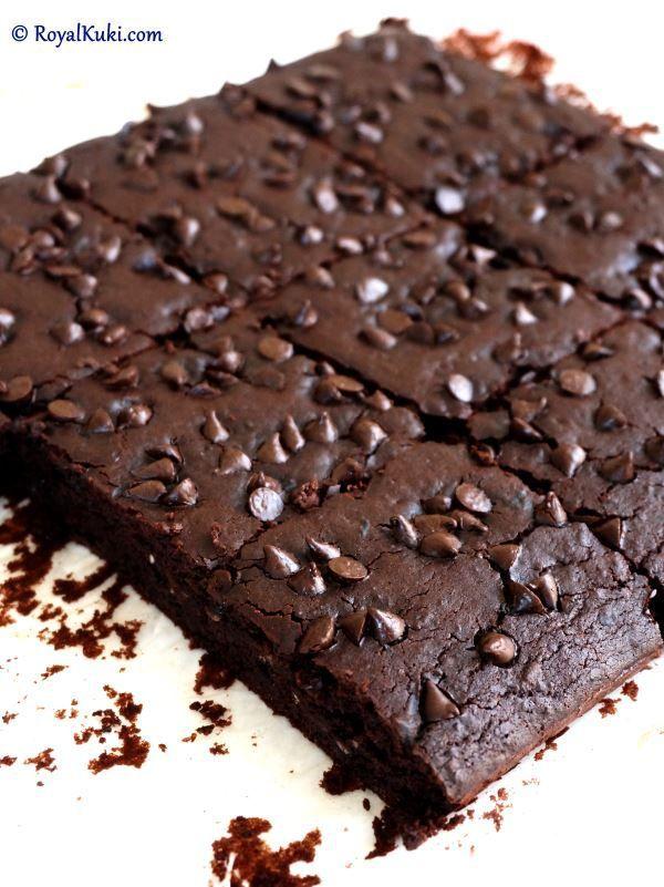 Siyah Fasulyeli Brownie; Sağlıklı, lezzetli ve Kolay Brownie tarifi