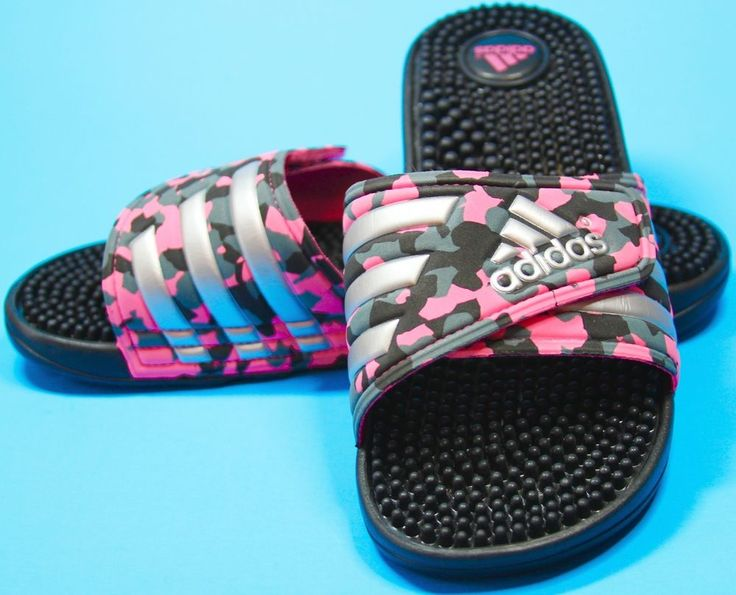 Details About Womens Adidas Adissage Slides Sandals Pink