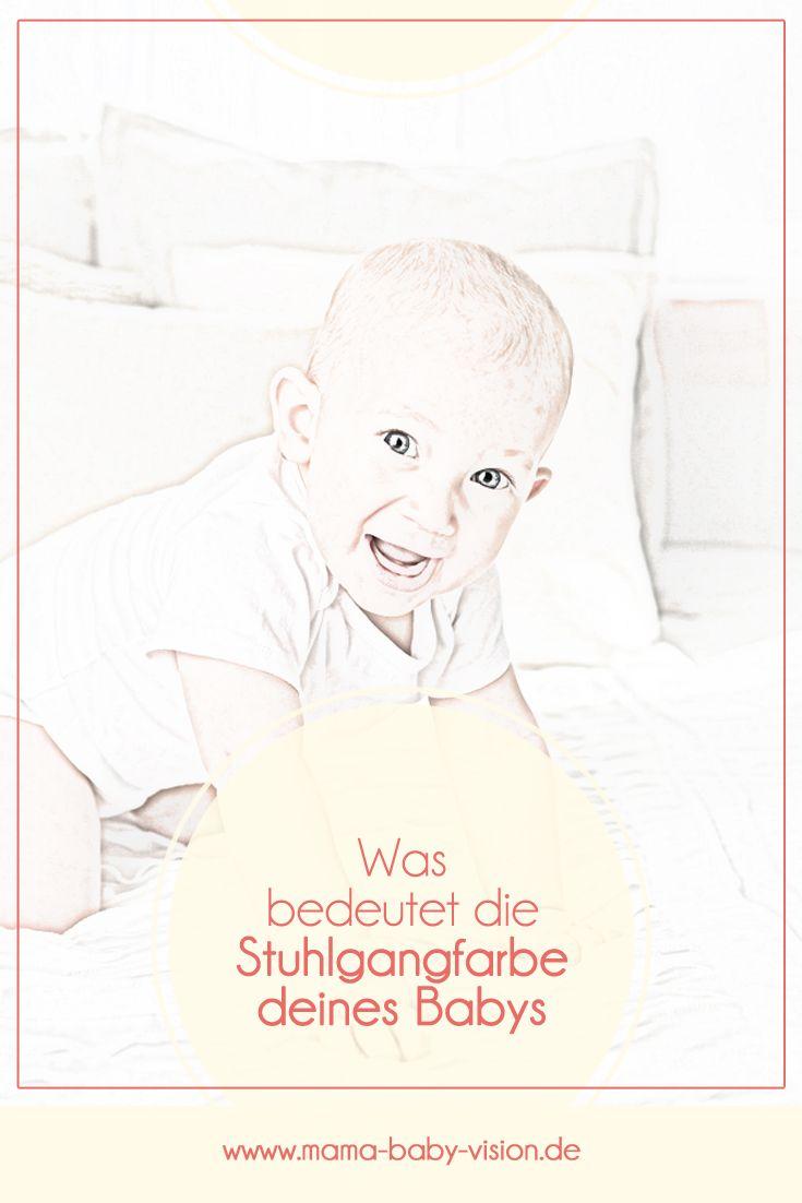 11 Farbnuancen Von Baby Stuhlgang Der Sich In Der Windel