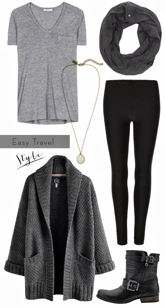 Post workout: Wear your workout leggings, through on some boots, scarf and a big sweater and you're ready to go!