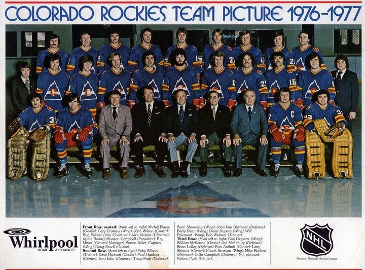 Colorado Rockies Hockey Nhl Hockey Teams Team Pictures Montreal Canadiens Hockey