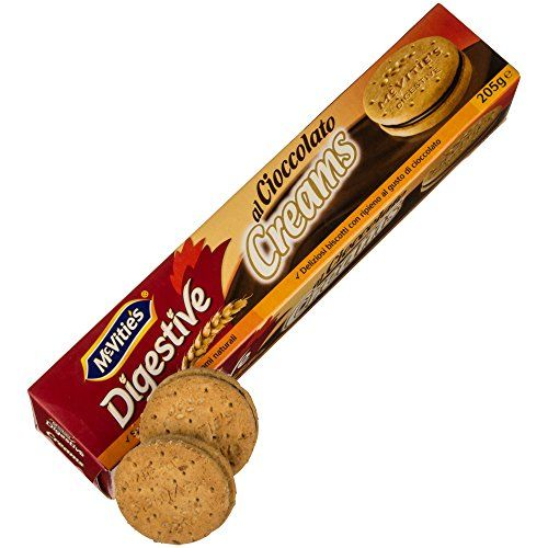 McVities Digestive Chocolate Creams 205g * Click on the image for additional details.