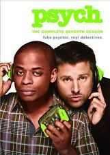 PSYCH COMPLETE SEVENTH SEASON 7 New Sealed 3 DVD Set
