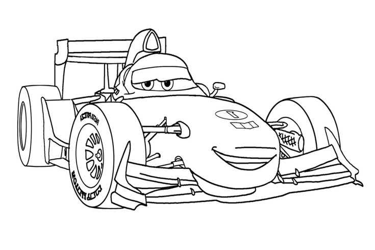 cars character coloring pages - photo#4