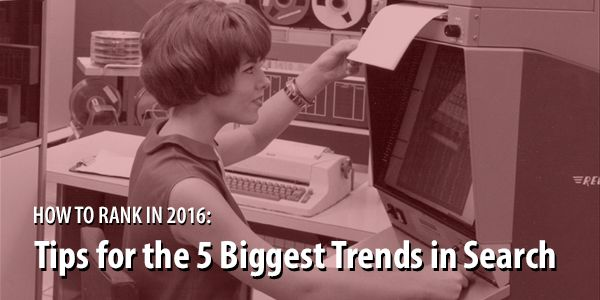 How to Future Proof Your Search Engine Marketing: 5 Tips for the 5 Biggest Trends