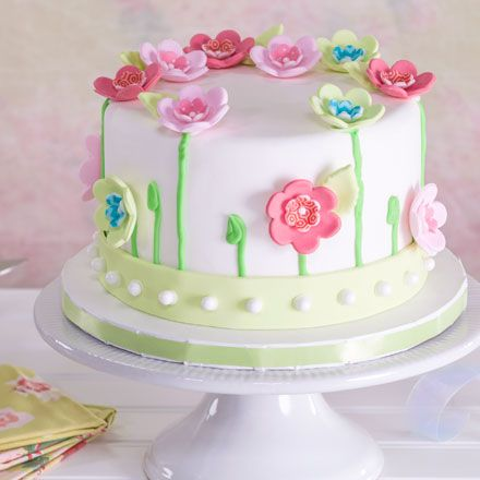 Simple Birthday Cake Designs For Mother