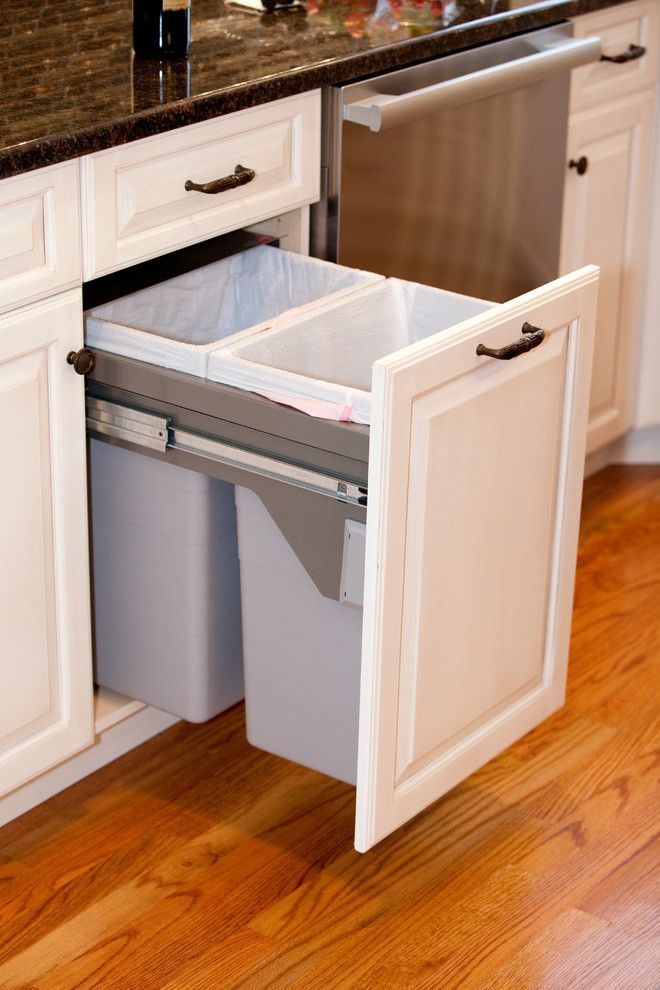 Kitchen Trash Cans, Kitchen Cabinet Trash Can Inserts