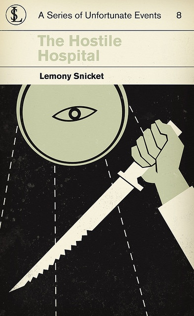 Lemony Snicket's A Series of Unfortunate Events 8: The Hostile Hospital (by corleyms on flickr)