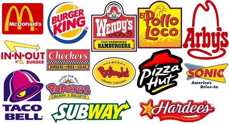 Image result for fast food logos