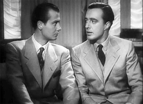 Roberto Villa et Vittorio De Sica dans Madeleine, zéro de conduite de Vittorio De Sica.