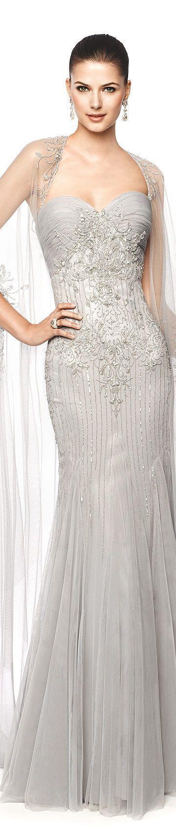 vestido de gala branco