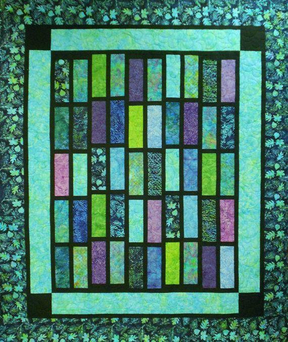 Quilt Pattern  Tradewinds Batik  Layer Cake by LittleLouiseQuilts