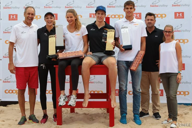 """Swiss Volley Beach Awards 2015 presented by Under Armour und Coop  Kategorien: """"Youngster of the year"""" """"Most Valluable Player"""""""