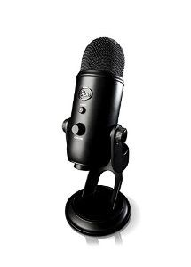 Blue Yeti USB Microphone - Blackout Edition by Blue Microphones for $121.00 http://amzn.to/2g402X6