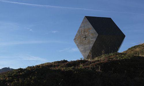 """Cappella """"Granato"""", Penkenjoch, Zillertal, #Austria ©fotoenricocano Architetto:#MarioBotta"""