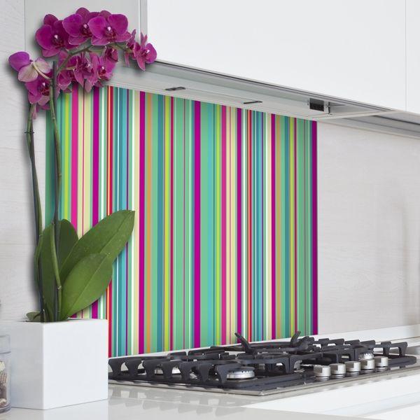 Decorazione Adesiva Kitchen Panel Colorful