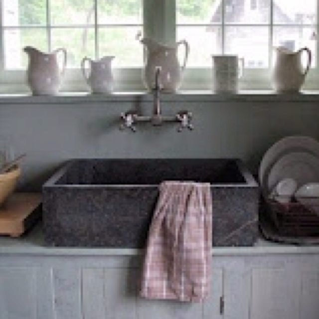 17 best images about barn sinks on pinterest trough sink for Barn style kitchen sink