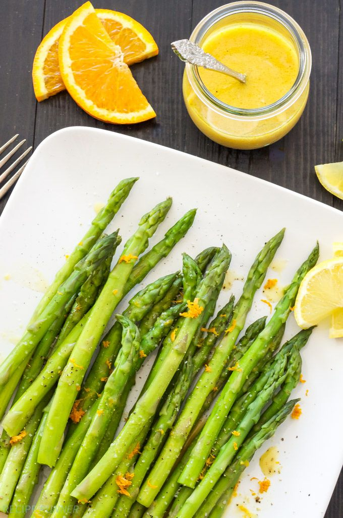 Chilled Asparagus with Citrus Vinaigrette | Crisp cold asparagus ...