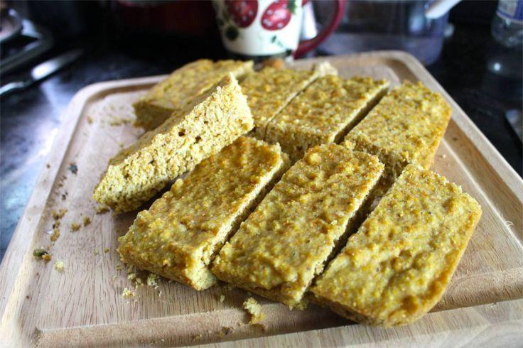 Kukuřično-rýžový chléb