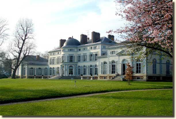 Le ch teau de groussay montfort l 39 amaury dans les for Chateaux yvelines visites