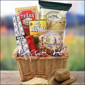 28 best gifts texas theme images on pinterest midland texas texas trailblazer basket saddle up cause this cause this texas themed gift basket is one negle Image collections