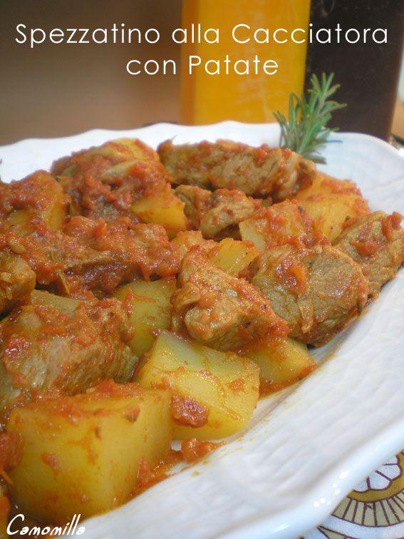 spezzatino alla cacciatora con patate                    #recipe #juliesoissons