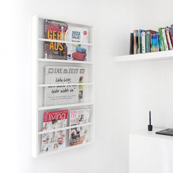 DIY Zeitschriftenhalter - Handmade Kultur