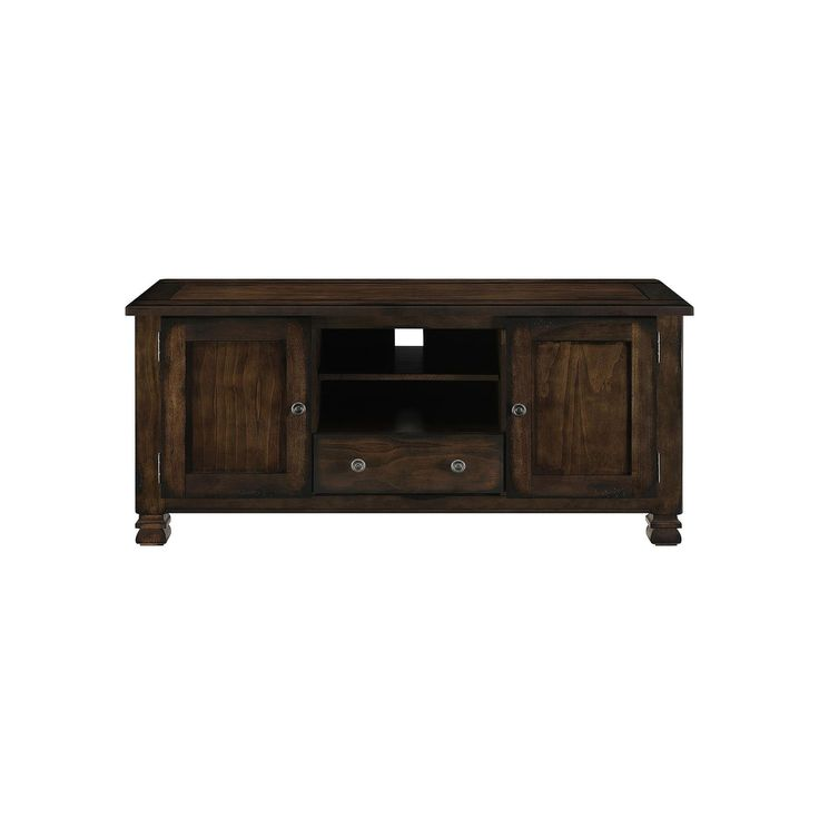 Altra Summit Mountain 55-inch TV Stand, Brown