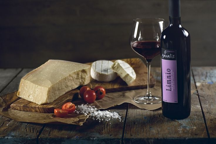Limnos' ruby, with red and black fruit aromas, spicy & sweet. This is Red Dry Limnio. #limnosisland #garaliswinery #limnio http://www.tastegreekwine.com/portfolio_page/limnio/