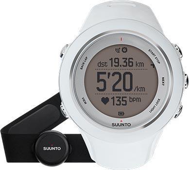 Suunto Умные часы Suunto AMBIT3 SPORT White HR  — 30990 руб. —  <P>SUUNTO AMBIT3 SPORT WHITE (HR)</P>GPS часы с функцией отслеживания сердечного ритма и интеграцией с мобильным подключением. Продвинутые функции для бега, езды на велосипеде и плавания. Интеллектуальное мобильное подключение на iPhone/iPad. Основные функции актуальные при занятиях  спортом и активном отдыхе: навигация по маршруту, цифровой компас с установкой компенсации магнитного склонения, высотомер по данным GPS, измерение…