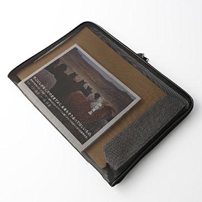 Dokumententasche aus Nylongewebe - L