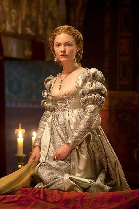 'The Borgias' - Beautifully detailed Renaissance dress.