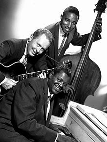 The Oscar Peterson Trio with Herb Ellis on guitar and Ray Brown on bass