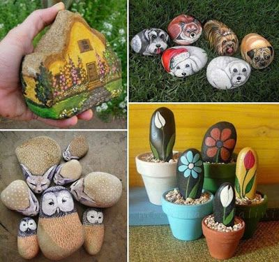 Artistic Land : Rock Painting.