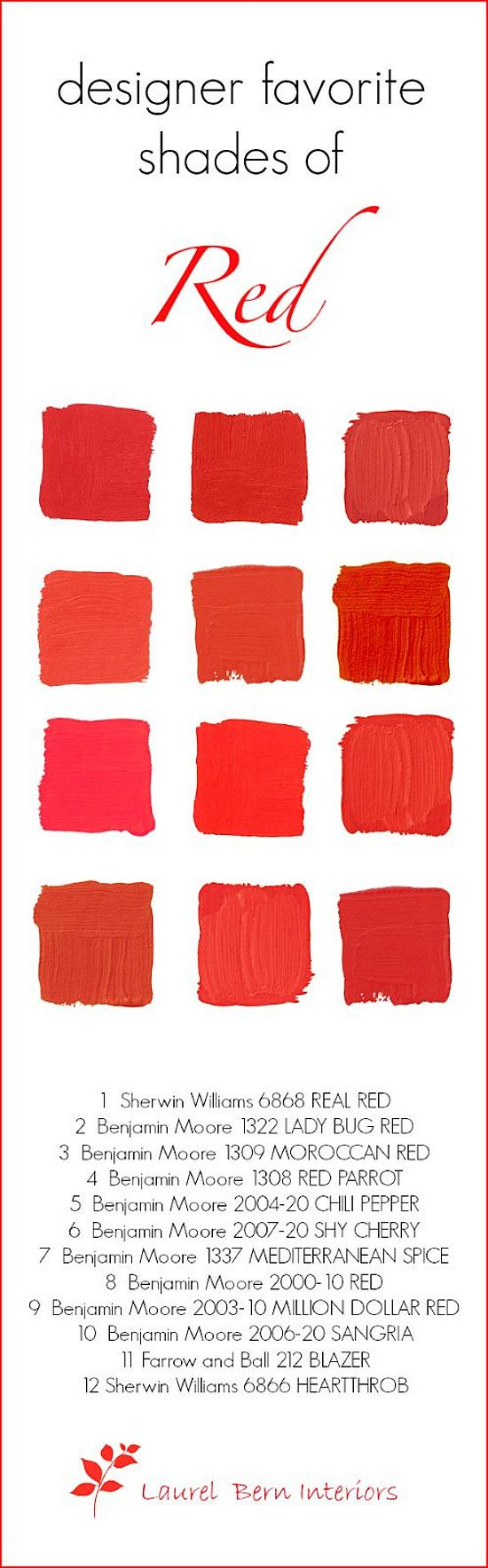 Interior paint colors red - 2016 Paint Color Ideas For Your Home Home Bunch An Interior Design Luxury