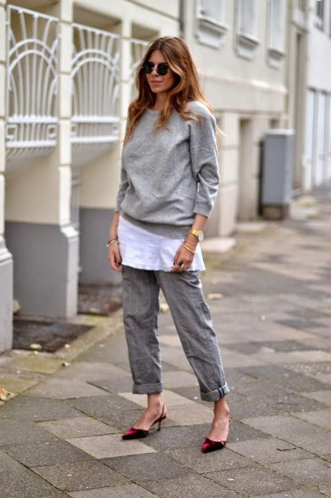 Maja WYH | all grey outfits on blogandthecity.net | @blogandthecity