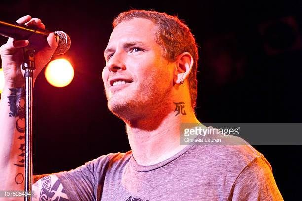 Vocalist Corey Taylor performs with Camp Freddy at The Roxy Theatre on December 11 2010 in West Hollywood California
