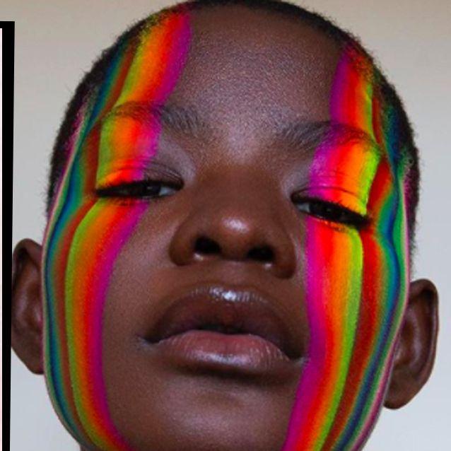 Bird Makeup, Eye Makeup Art, Beauty Makeup, Face Makeup, Crazy Makeup, Pretty Makeup, Makeup Looks, Rainbow Face Paint, Makeup Inspiration